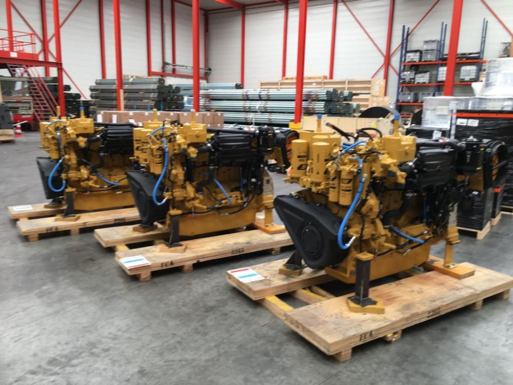 Delivery of 3 pcs propulsion engines CAT C18
