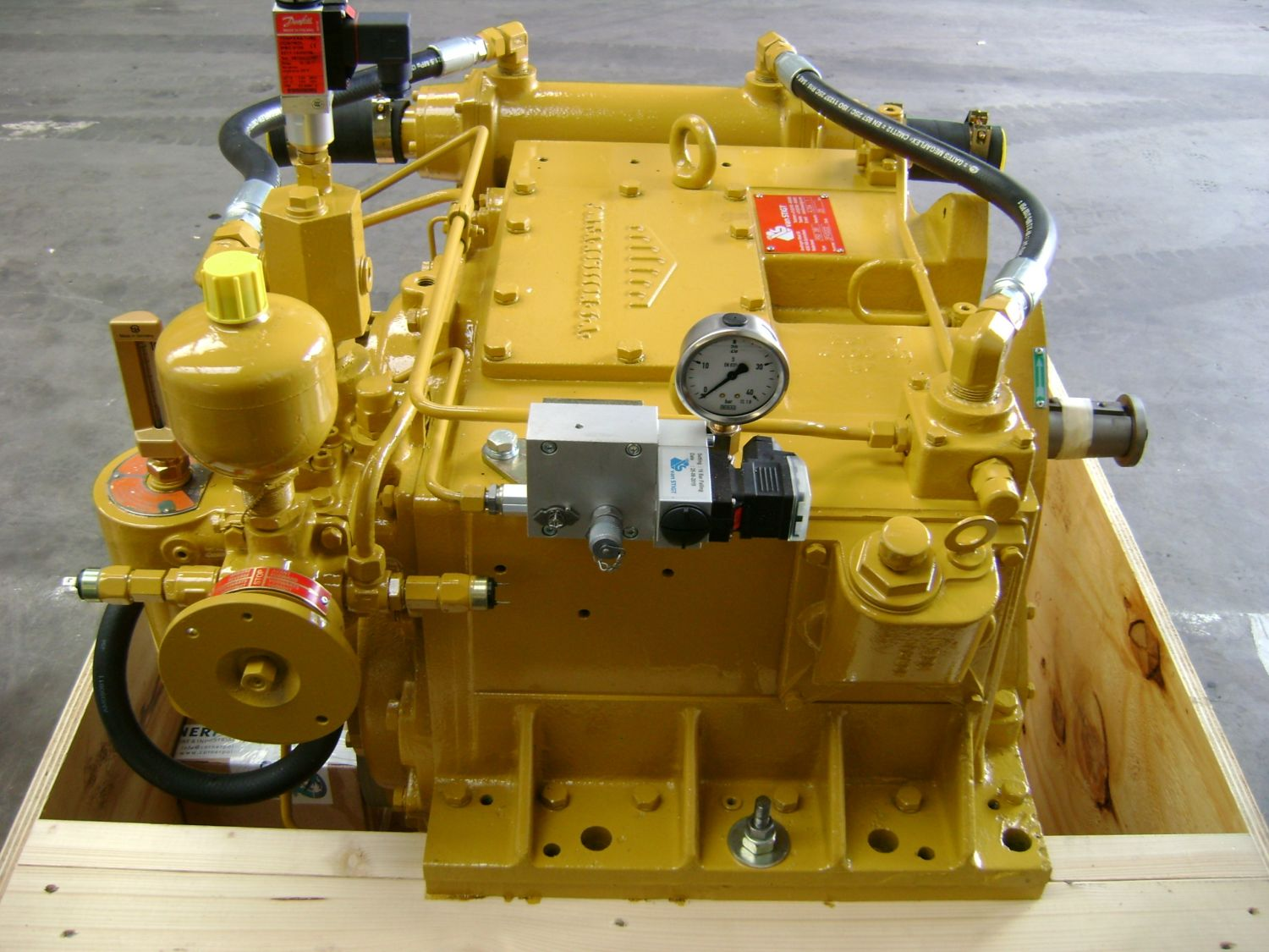 Delivery of reconditioned Masson RSD 281 gearbox