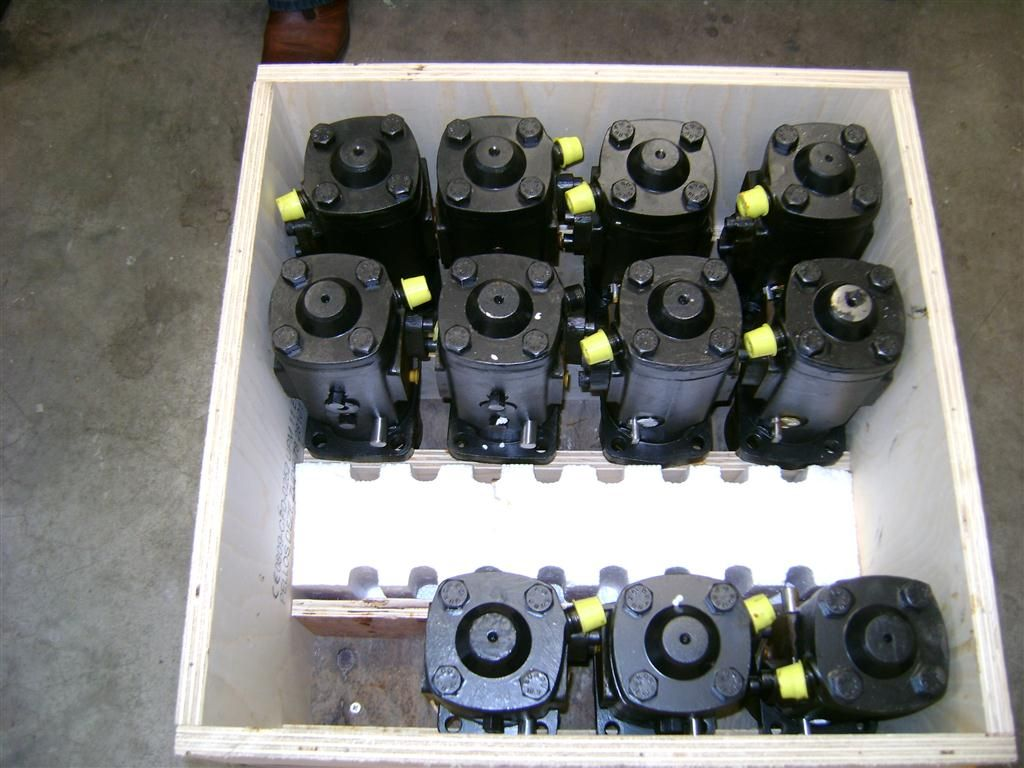 Cornerpoint supplied 12pcs reconditioned fuel pumps for Wartsila 12V22 engine