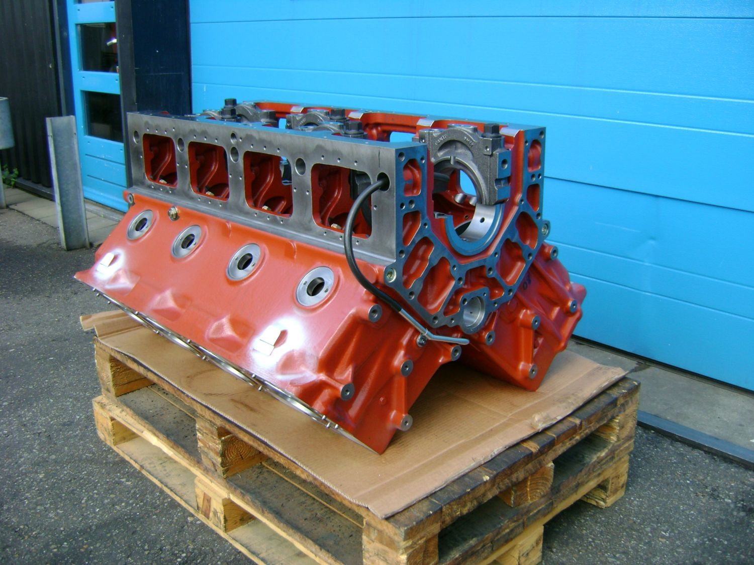 Supply of a brand new engine block for Baudouin engine