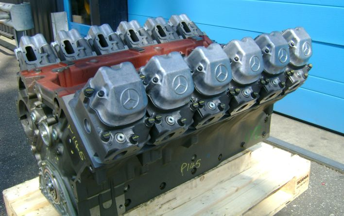 Supply of a new long block for a MTU 12V183